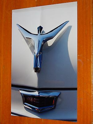 Photo 1956 Chrysler  Hood Ornament Close Up In 2002 - American 50S Vintage