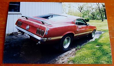 Photo 1969 Ford Mustang Mach 1 Classic In Syracuse Ny 2002 - Retro Muscle Car