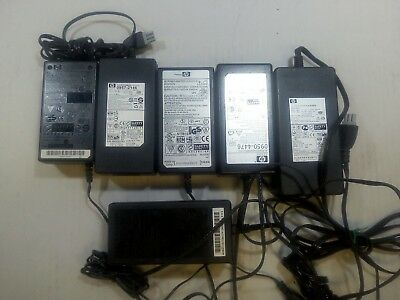 - 6x MIXED HP PRINTER +32V POWER SUPPLY 0957-2146/0950-4476/0950-4491/0957-2178