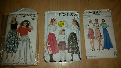 Vintage sewing patterns, New Look, job lot miscellaneous retro