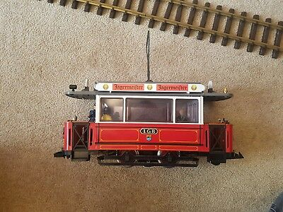 LGB 2036 Street Car Tram Loco Powered unit G Gauge Boxed