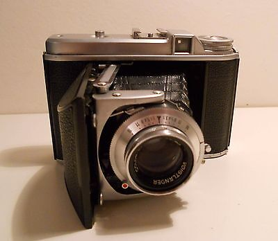 Voigtländer Perkeo II Skopar 80mm 3,5 Folding camera