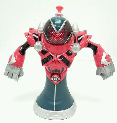 """2007 Talking Professor Darkness Black Hole 7.5"""" Planet Heroes Action Figure Toy"""