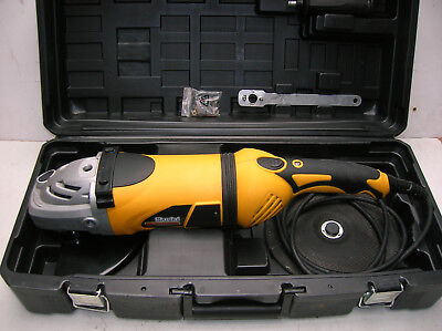"""Clarke Contractor Professional 2600w 9"""" (230mm) Angle Grinder/Cutter"""