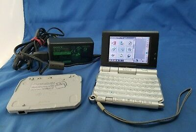 Sony CLIE PEG-UX50 Handheld Palm OS 5.2 - Camera Bluetooth Wi-Fi - VGC