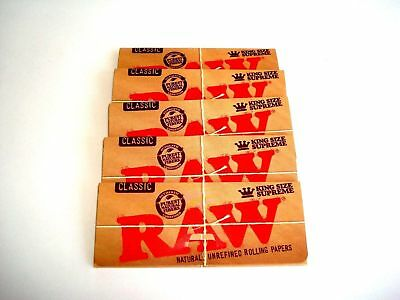 Raw Rolling Paper King Size Supreme Classic - 5pk