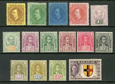 Sarawak Mixed Mint, Unused Lot to $5. 1871 - 1950. Cat approx £170