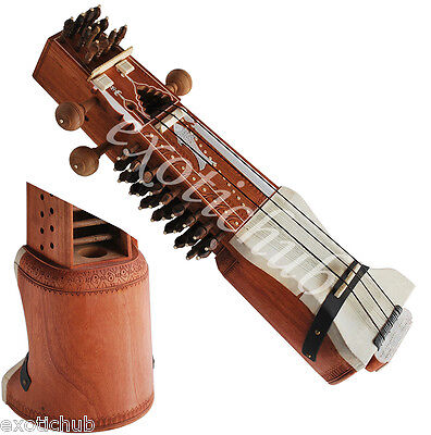 Sarangi With Bow~Special Concert Quality Tun Wood~Hand Made Indian~String Ehs