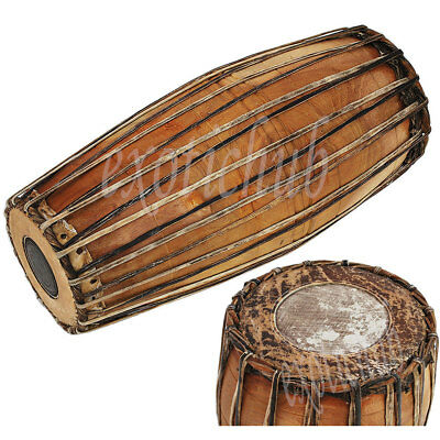 Mridangam~Mridang~Mirudang~Mridang~South Indian~Jack Fruit Wood~Bhajan~Kirtan~Dj