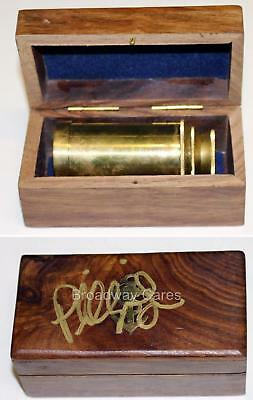 AMELIE Phillipa Soo Signed Rehearsal Used Cut Prop Spyglass