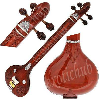 Tanpura Peacock Neck~Tanpuri~Tambora~Hand Made Indian~Bhajan~Kirtan~Mantra~Dj