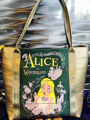 New Disney HARVEYS 60th ALICE in Wonderland Bag