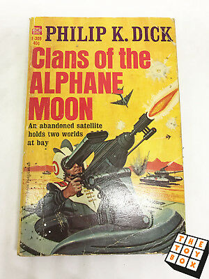 Sci-fi Novel Ace Clans of The Alphane Moon Phlip K. Dick