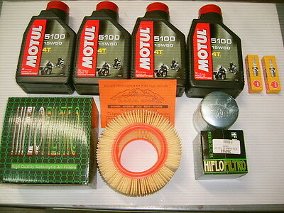 Replacement Kit Complete Motul 5100 15W-50 Bmw R1100 Gs Year 1993 1994 1995 1996