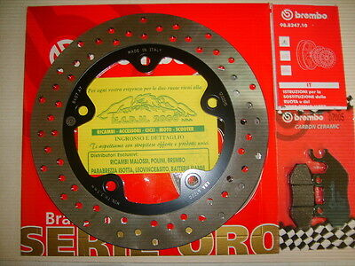 Brake Disc Brembo + Pads Front Sym Citycom 300 From 2010 7A7