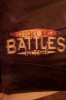 doctor who battles in time folder and 60+ cards
