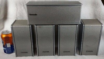 Panasonic Home Theater 5.1 Speakers SB-FS803A SB-PC703 Surround Sound