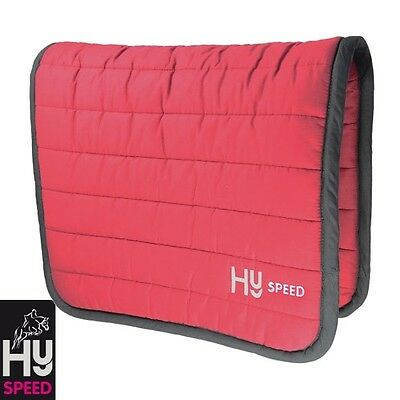 HySPEED Reversible Comfort Pad – Extra thick – CLARET – ONE SIZE **FREE P&P**