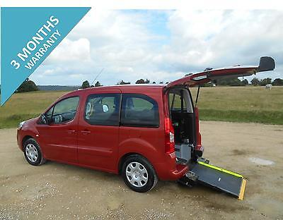 2010 Peugeot Partner Tepee S  5 Door 5 Seat Wheelchair Accessible Disabled Car