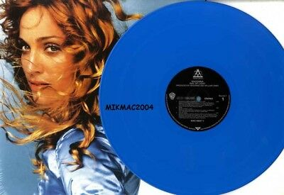 MADONNA - RAY OF LIGHT Exclusive UK only BLUE VINYL 2-LP SET LTD EDITION SEALED
