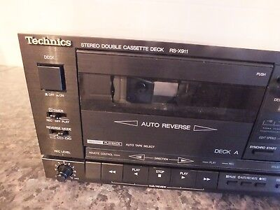 technics cassette player rs x911 excellent working order