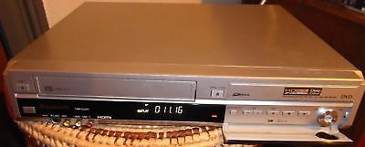 Panasonic DMR-EZ48V DVD/VHS combo records both ways, in silver (rare) GWO