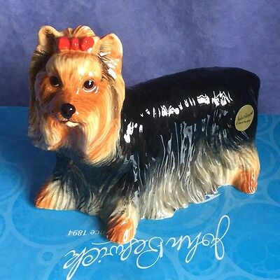 John Beswick Yorkshire Terrier Dog Birthday Gift Present