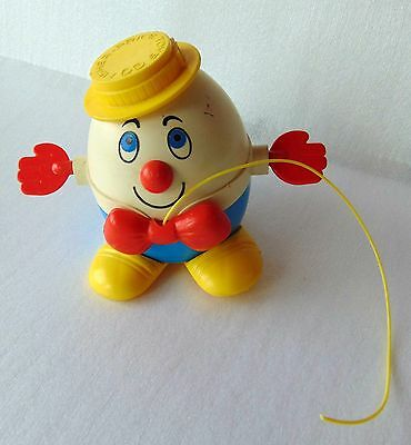 Vintage Fisher Price - Humpty Dumpty Pull Toy