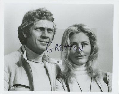 STEVE McQUEEN & ELGA ANDERSEN in LE MANS ORIGINAL PHOTO 2
