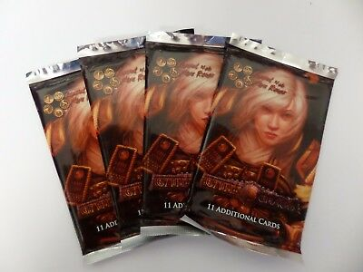 GATES OF CHAOS booster x 4 LEGEND OF THE FIVE RINGS (L5R) CCG NOT LCG - AEG