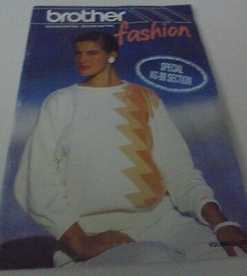 Brother Fashion Machine Knitting Family Pattern Book Special KG-88 Section