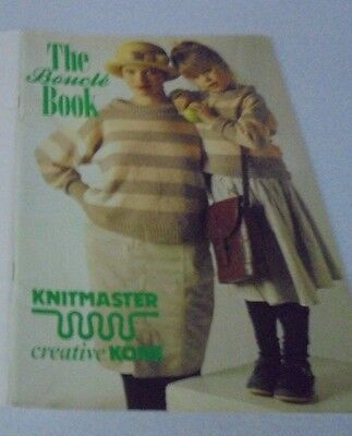 Knitmaster The Boucle Creative Kone Knitting Machine Book Sweaters Outfits Skirt