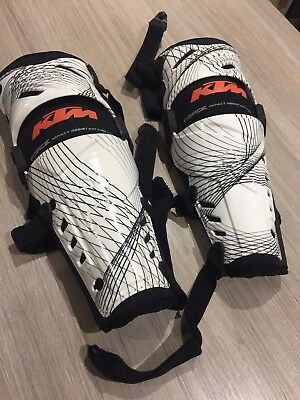 KTM Force Knee Guards Motocross Enduro Knee Brace pair small / medium rrp £121