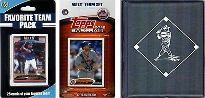 (New York Mets) - C & I Collectables 2012METSTSC MLB New York Mets Licenced