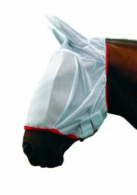 (Pony, White) - Cottage Craft Mesh Fly Mask. Shipping is Free
