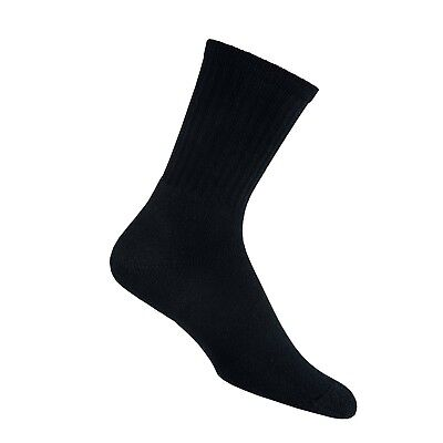 (X-Large, Black) - Thorlos Unisex Ultra Light Hiking Crew Socks