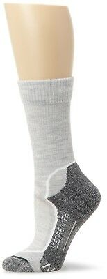 (Large, Blizzard White Oil) - Icebreaker Hike+ Lite Crew Socks-Women's
