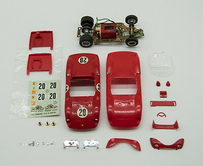 Vintage Monogram 1/32 Ferrari 275/LM Slot Car Kit