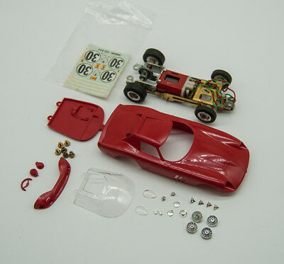 Vintage Monogram 1/32 Ferrari 250 GTO/LM Slot Car Kit