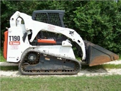 Bobcat T190 Skid Steer Workshop Manual