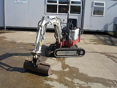 Takeuchi  TB 108 Mini Digger Workshop Manual