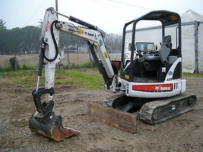 Bobcat 428 Mini Digger Workshop Manual