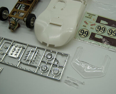 Vintage Monogram 1/24 Chaparral 2C Slot Car Kit