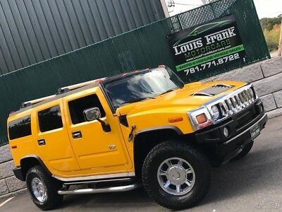 2005 Hummer H2 Base Sport Utility 4-Door LUXURY & CHROME PACKAGE! MOONROOF! BOUGHT NEW IN CALIFORNIA! UNBELIEVABLE H2!!!!