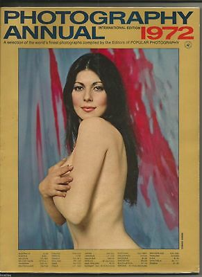 Ancien Magazine PHOTOGRAPHY ANNUAL 1972. PICTURES FROM THE WORLD