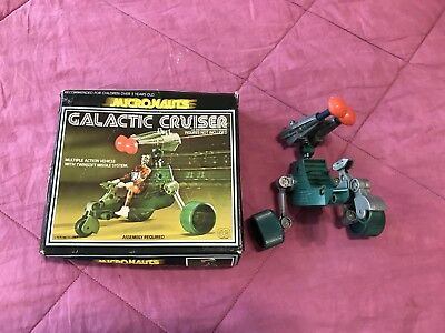Vintage 1976 Micronauts Galactic Cruiser with original box