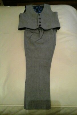 Boys age 4 Next trousers and waistcoat