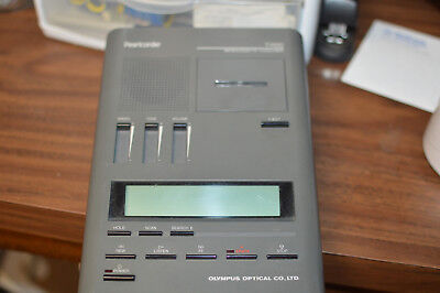 Olympus Pearlcorder Microcassette Transcriber Dictation Machine -Untested