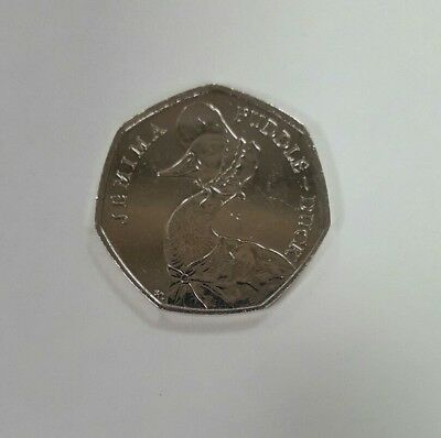 Jemima Puddle-Duck 2016 50p Coin