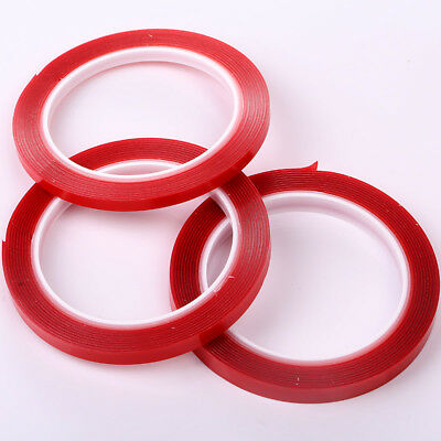 Double sided Adhesive tape Foam Transparent Easy to  use 6/8/10mmx3m Nail art